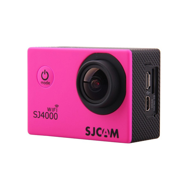 Камера SJCAM SJ4000 WiFi Full HD Action (цвет розовый).