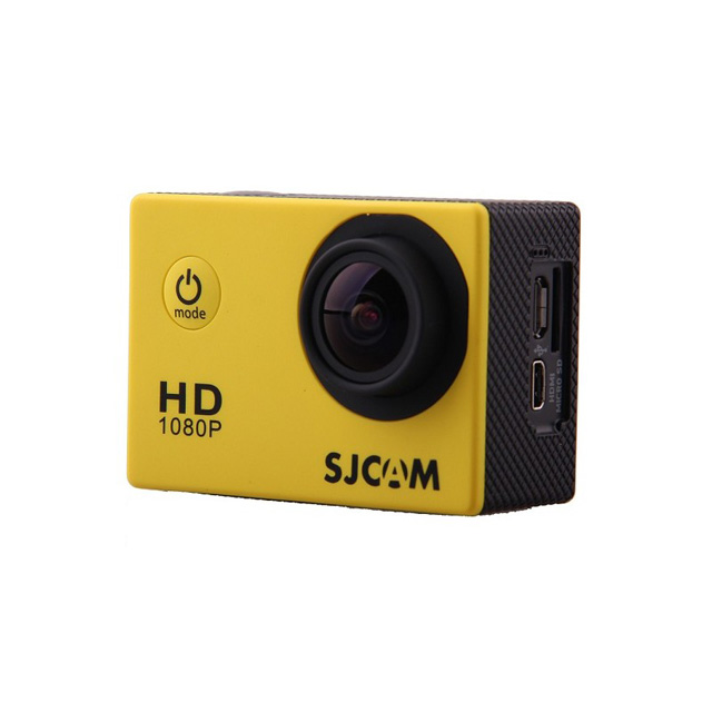 Камера SJCAM SJ4000 Full HD Action (цвет жёлтый).