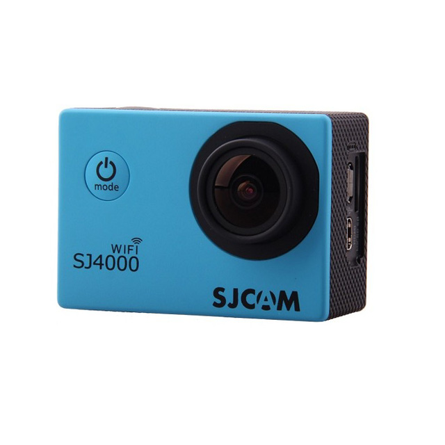 Камера SJCAM SJ4000 WiFi Full HD Action (цвет голубой).