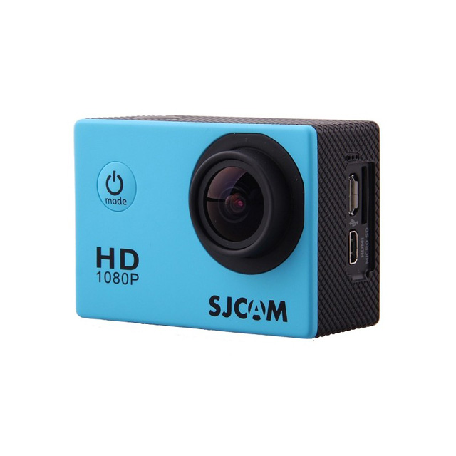 Камера SJCAM SJ4000 Full HD Action (цвет голубой).